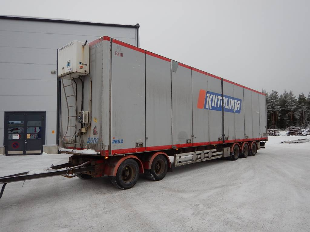 Närko Kylkiaukeava pv. vm-05, WLC-895, Kylmä-/Lämpökoriperävaunut, Kuljetuskalusto