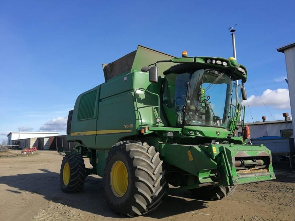 John Deere T 660, Derliaus nuėmimo kombainai, Žemės ūkis