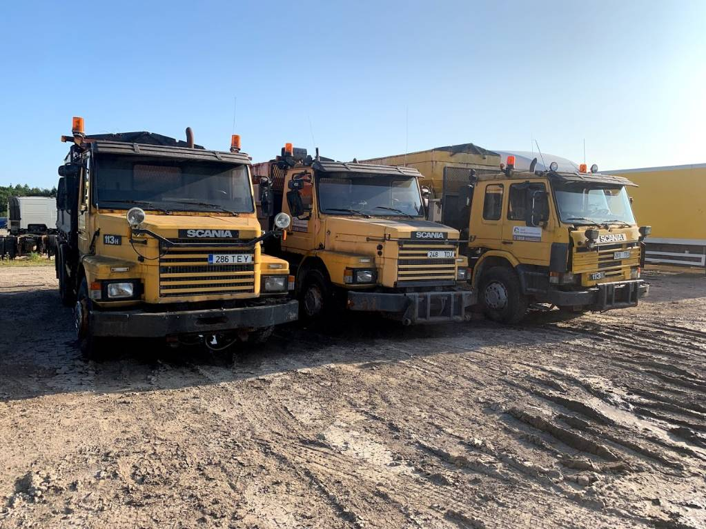 Scania 113 3pc Complete or for parts, Kallurid, Transport
