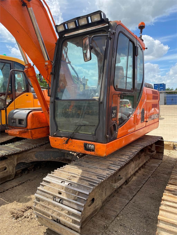 Doosan DX140LC, Crawler Excavators, Construction Equipment