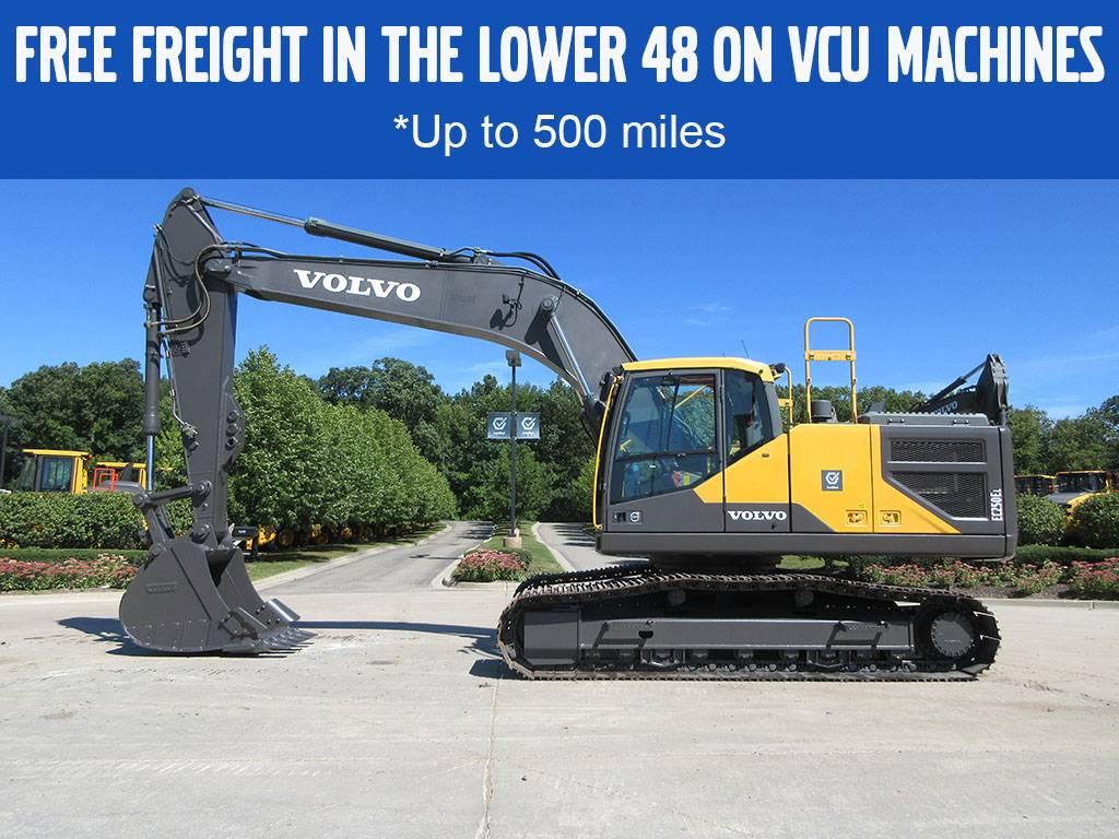 Volvo EC250EL, Crawler Excavators, Construction Equipment