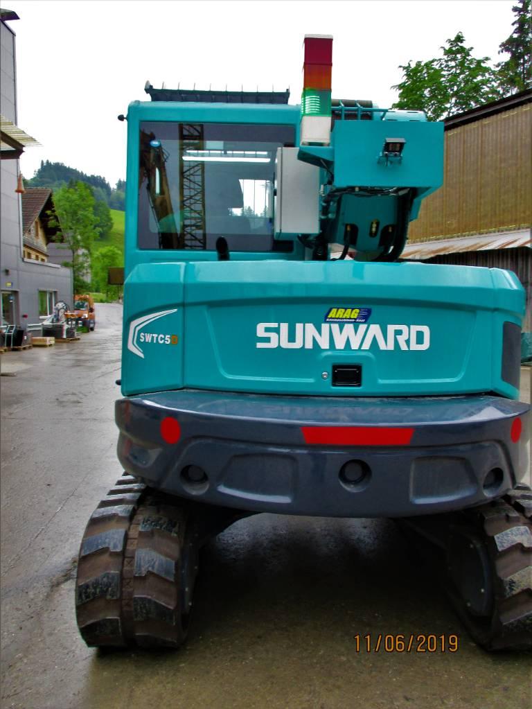 Raupenkran Sunward SWTC5D | Krane | Agropool