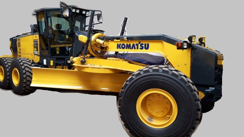 Komatsu GD 705-5, Motor Graders, Construction Equipment
