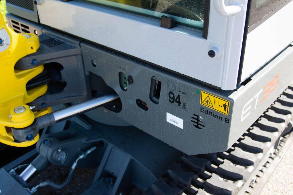 Wacker Neuson ET35, Minigraafmachines < 7t, Bouw
