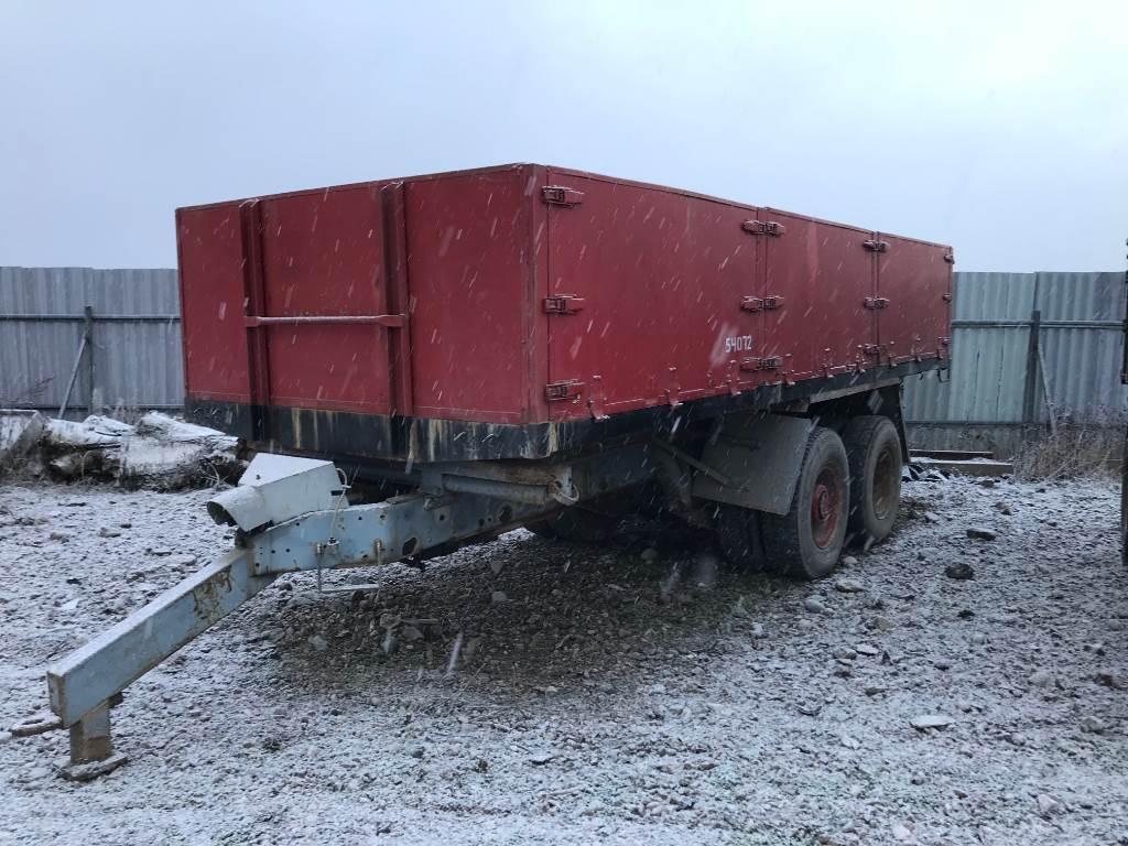 [Other] Boggievagn Lastbilsbakände, Tippvagnar, Lantbruk