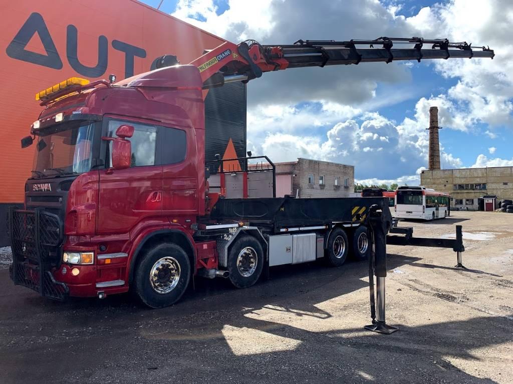 Scania R620 8x2 PK 85002 Winch, Boom / Crane / Bucket Trucks, Trucks and Trailers