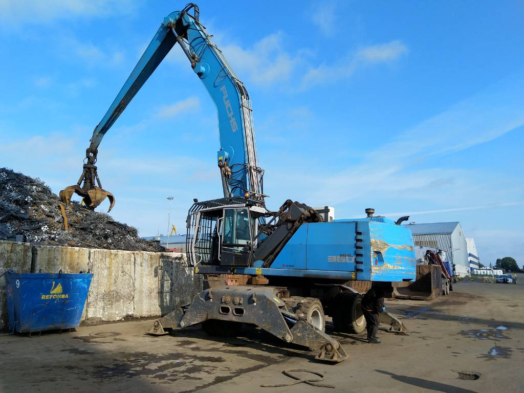 Terex Fuchs MHL360, Others, Material Handling