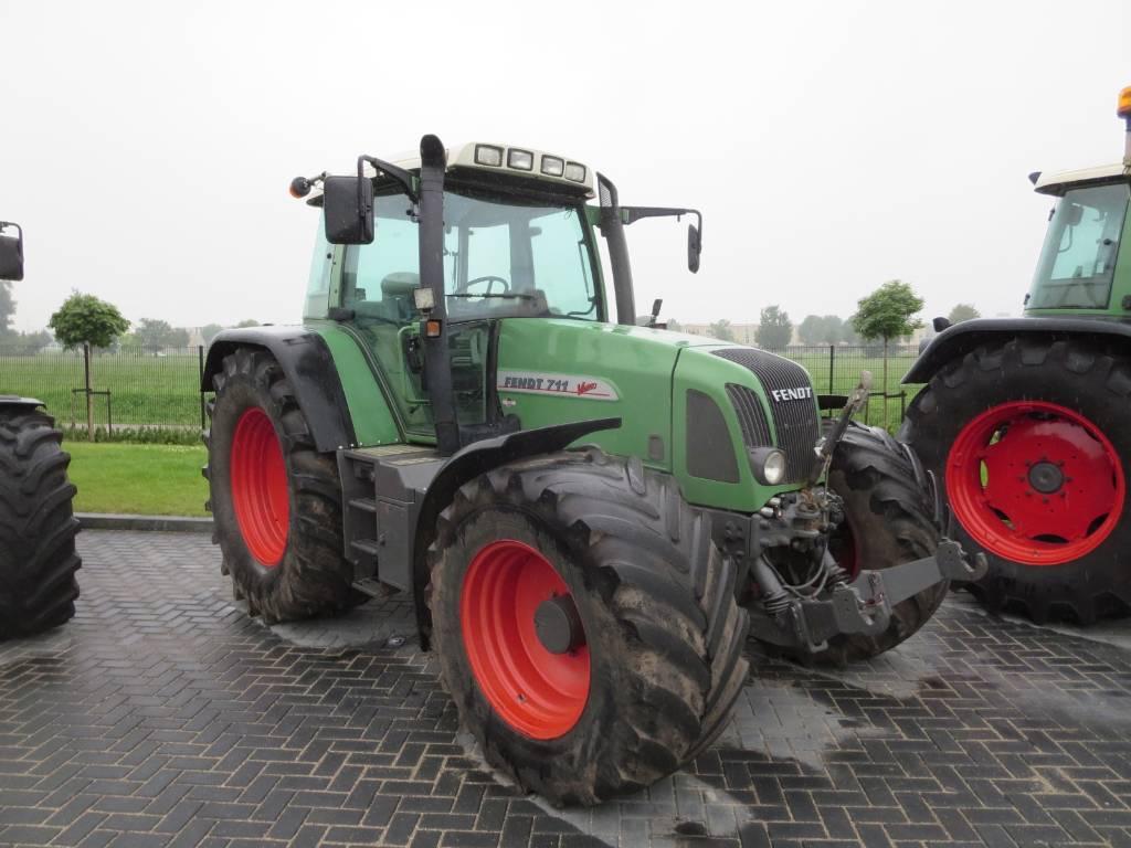 Fendt 711 vario com2, Tractoren, Landbouw