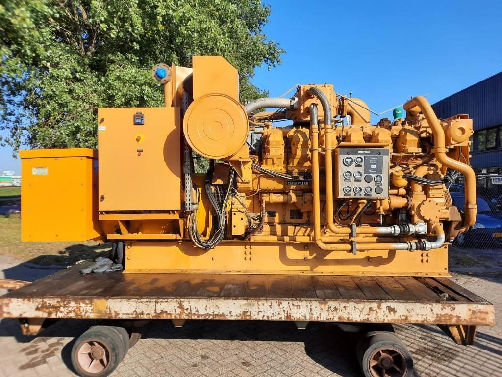 Caterpillar G3512 - Gas Generator set - 770kW - - 7NJ - DPH106562, Electric Power Generator, Construction