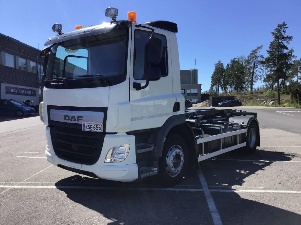 DAF CF330 FA, Demountable Trucks, Trucks and Trailers