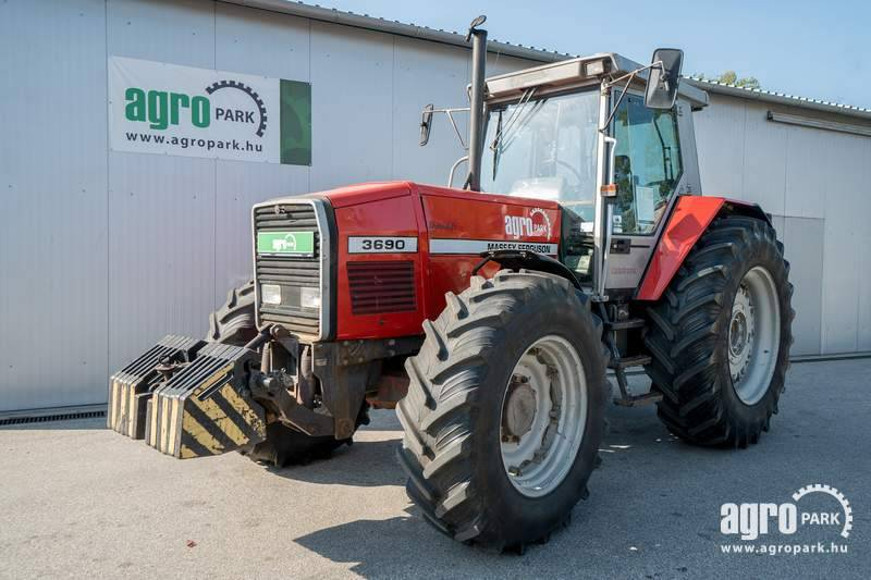 Massey Ferguson 3690 Dynashift (9232 hours), Powershift 32 32