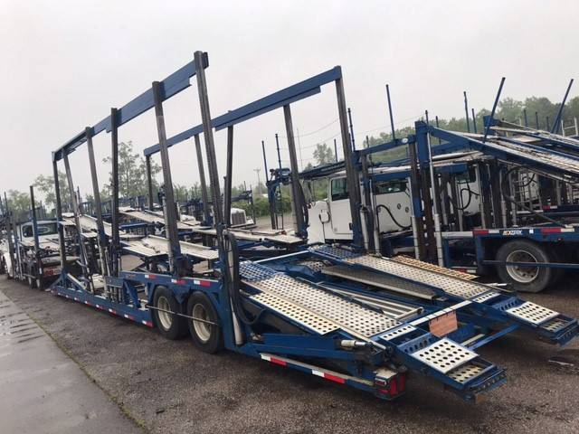 9801 Peterbilt 365, Car Haulers, Trucks and Trailers