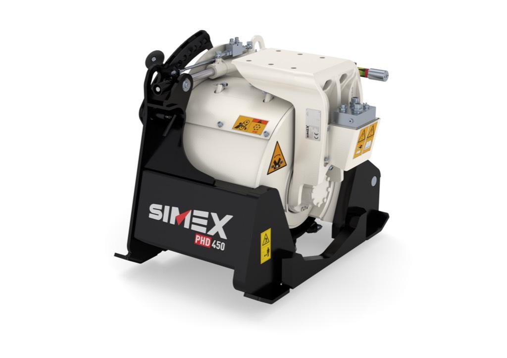 Simex PLB600, Jyrsimet, Maarakennus