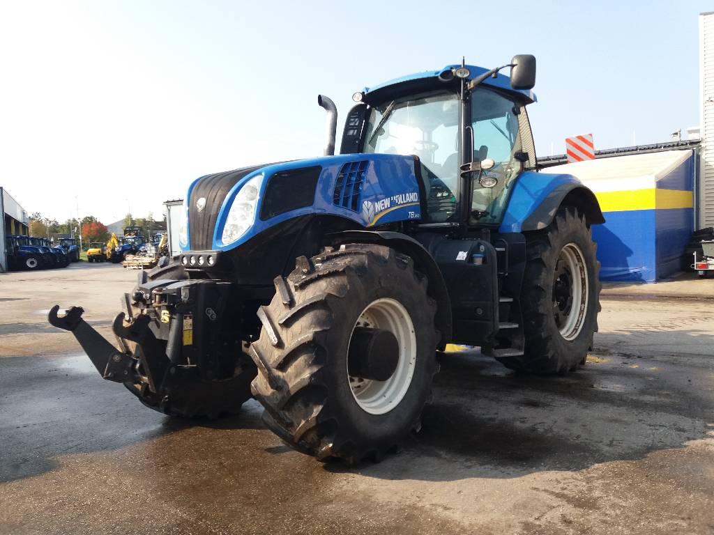 New Holland T 8.360 UC, Traktorid, Põllumajandus