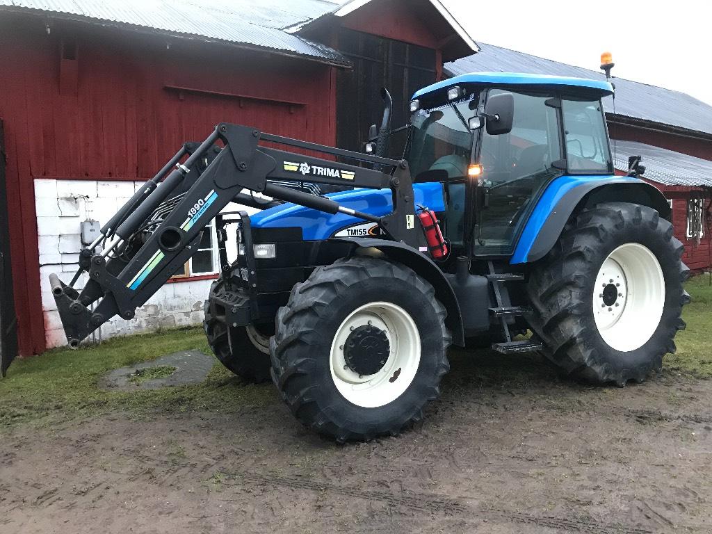 New Holland TM155, Trima 1890, Traktorer, Lantbruk
