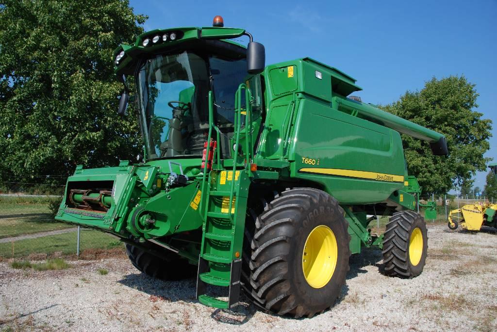 John Deere T 660 i, Kombainid, Põllumajandus