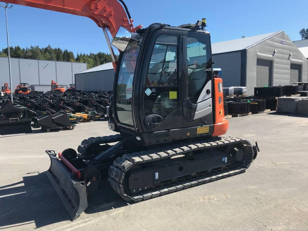 Hitachi ZX85US-5 Jernbane, Special excavators, Construction Equipment