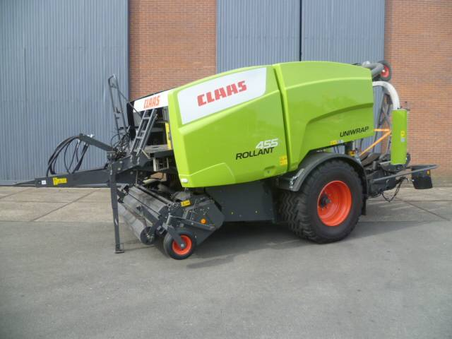 CLAAS Rollant 455 Uniwrap, Round Balers, Agriculture