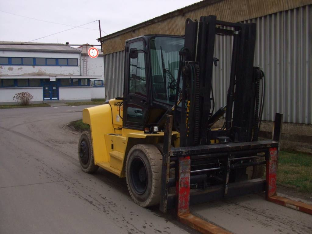 Hyster H12XM-6, Diesel counterbalance Forklifts, Material Handling
