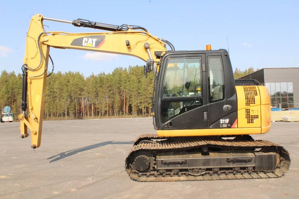 Caterpillar 311 F LRR / MYYTY, SOLD, Telakaivukoneet, Maarakennus