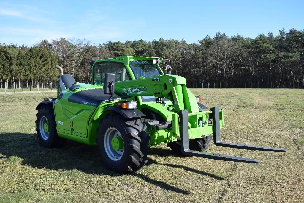 Merlo TF33.7, Verreikers voor landbouw, Landbouw