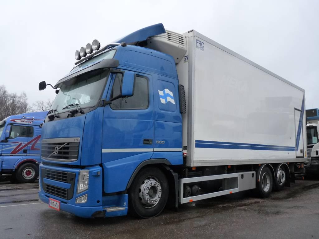 Volvo FH 500 6x2, FRC kori vm. 2018!, Kylmä-/Lämpökori kuorma-autot, Kuljetuskalusto
