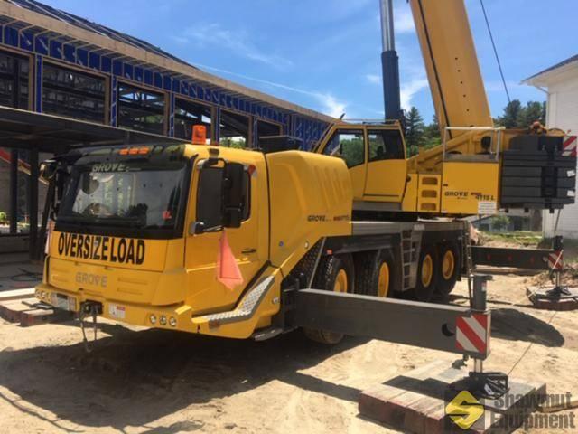 Grove GMK4115L, Crane Parts and Equipment, Construction Equipment