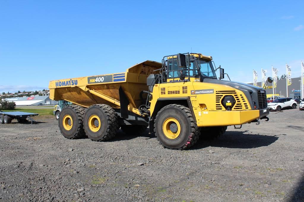 Komatsu HM400-5, Articulated dump trucks, Construction Equipment
