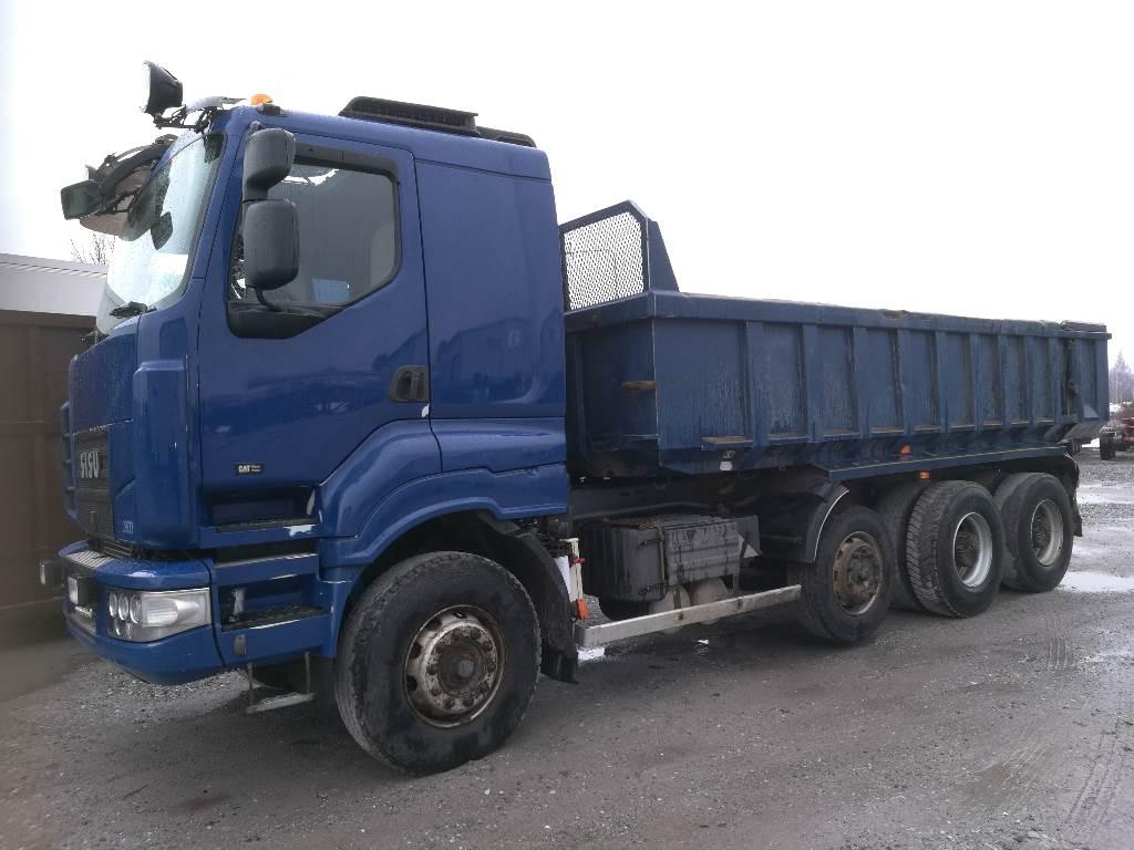 Sisu C600 Fuller 1. omistajalta, Tipper trucks, Transportation