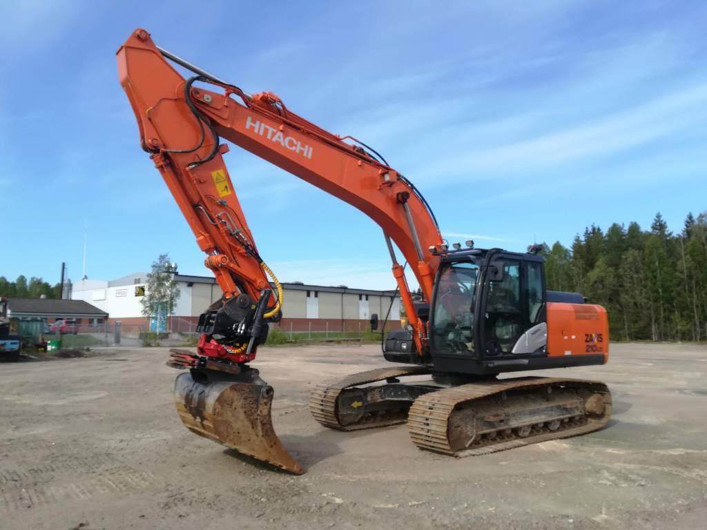 Hitachi ZX 210 LC-5 Delvator Trestad Center, Crawler Excavators, Construction Equipment
