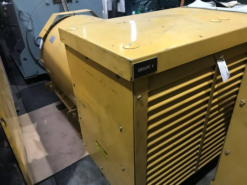 Caterpillar Generator End SR 4 - 1460 kW - DPH 104451, Generator Ends, Construction