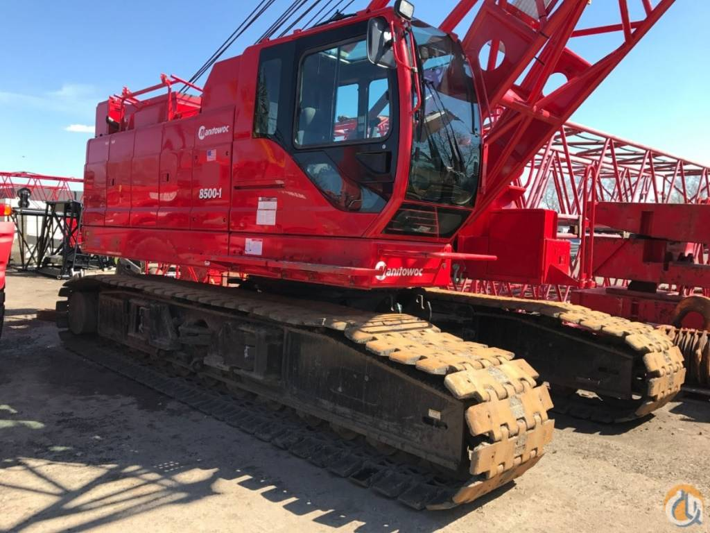 Manitowoc 8000-1, Crane Parts and Equipment, Construction Equipment