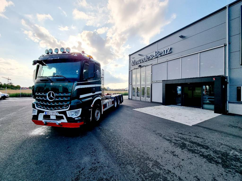 Mercedes-Benz Arocs 3251 L 8x4 Tridem Lastväxlare, Lastväxlare/Krokbilar, Transportfordon