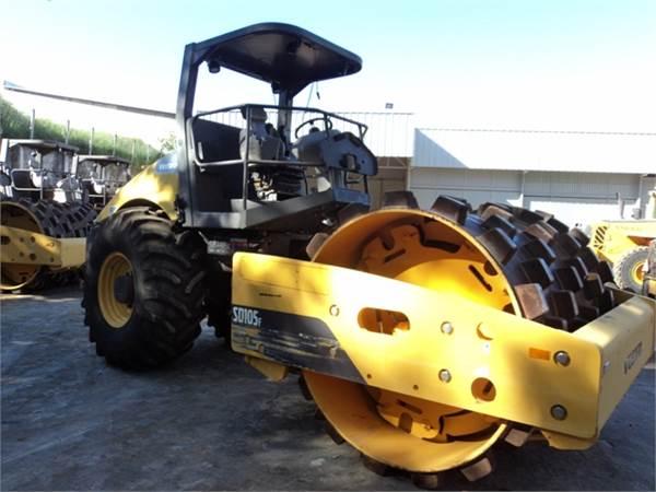 Volvo SD105F, Soil Compactors, Construction Equipment