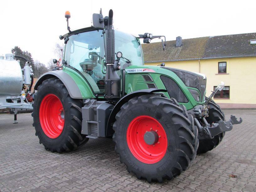 Fendt 514 Power, Tracteur, Agricole
