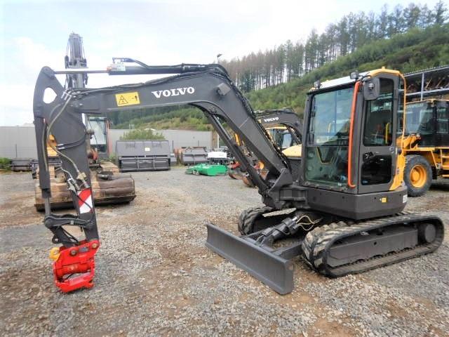 Volvo ECR 58 D mit Powertilt, Mini Excavators <7t (Mini Diggers), Construction Equipment