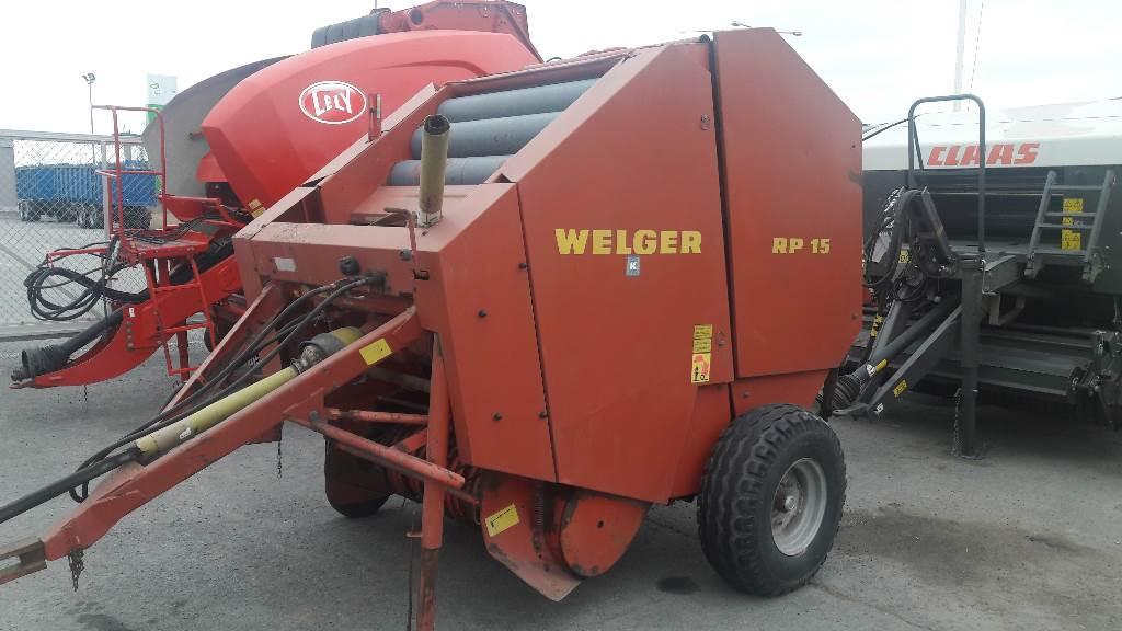 Welger RP-15 PAALAIN, Muut maatalouskoneet, Maatalouskoneet