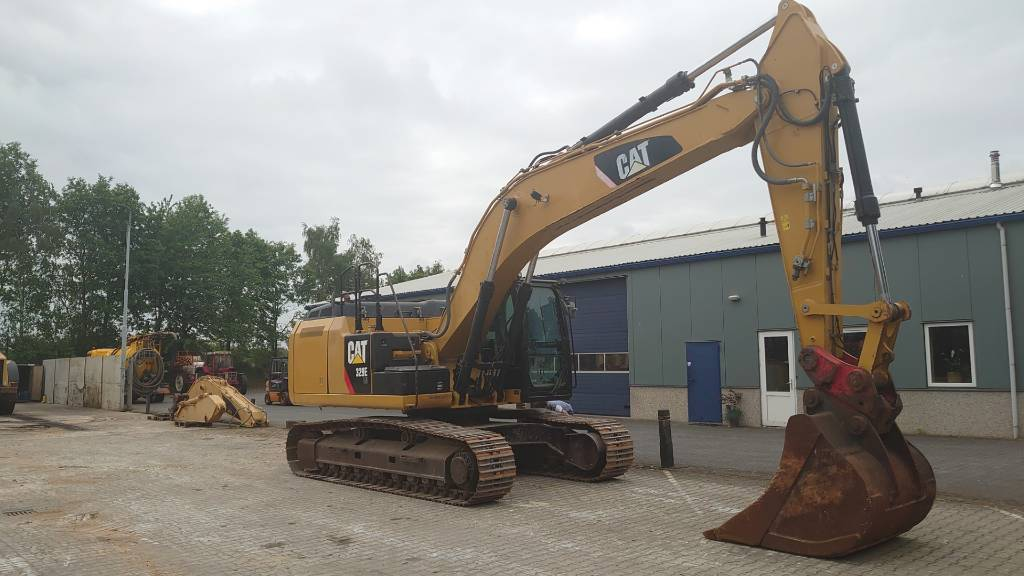 Caterpillar 329 E LN, Crawler Excavators, Construction Equipment