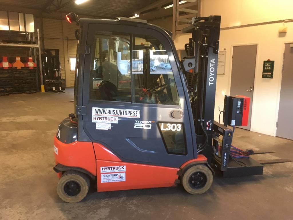 Toyota 8FBNT20, Electric forklift trucks, Material Handling