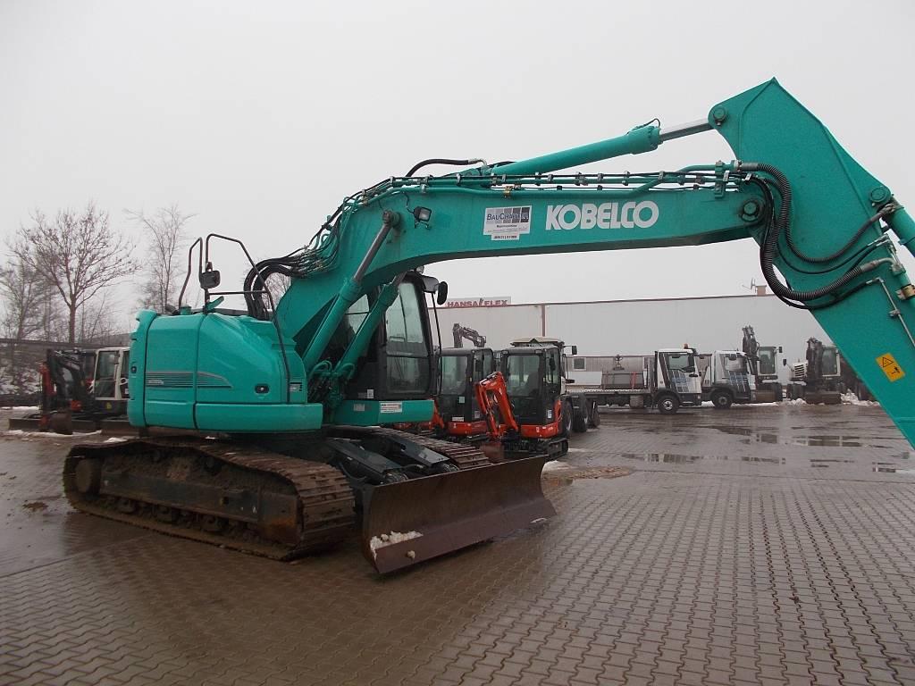 Kobelco SK 230 SR, Raupenbagger, Baumaschinen