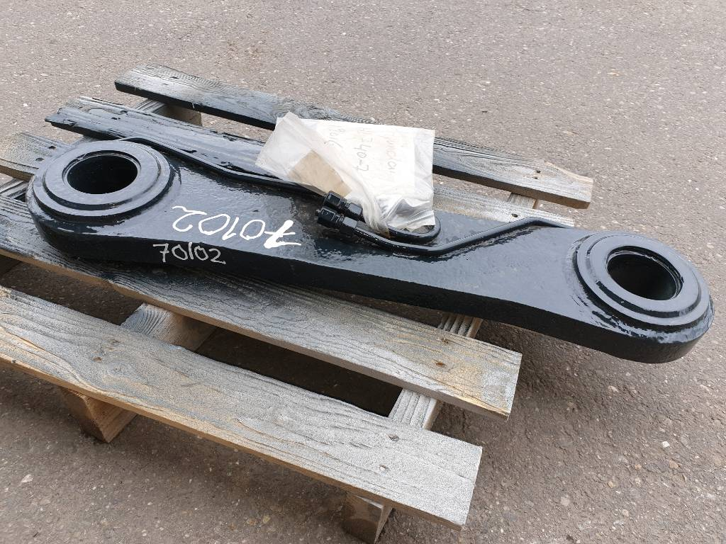 Hyundai HL740-7A bucket linkage, Chassis and suspension, Construction