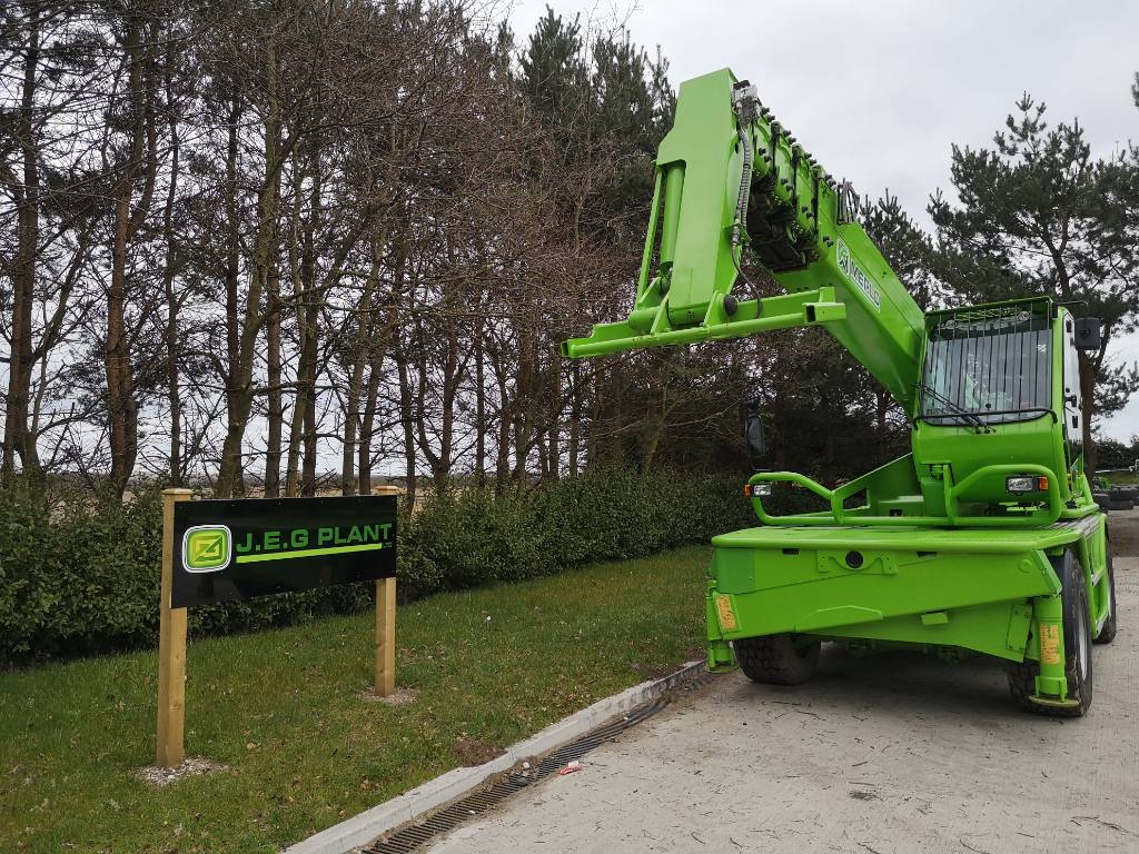 Merlo Roto 40.30 M CS S, Telescopic handlers, Construction