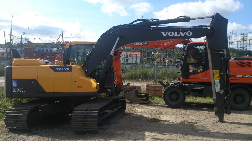 Volvo EC 140 D, Uthyres, Bandgrävare, Entreprenad