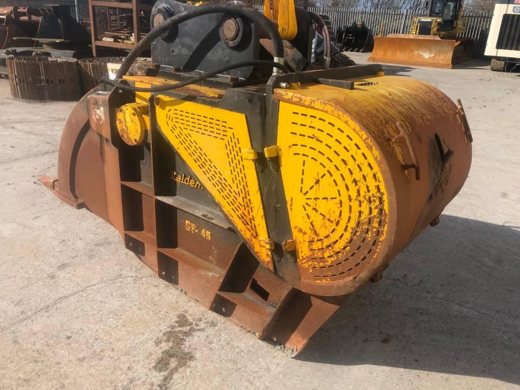 Italdem GF 45, Crushing buckets, Construction Equipment
