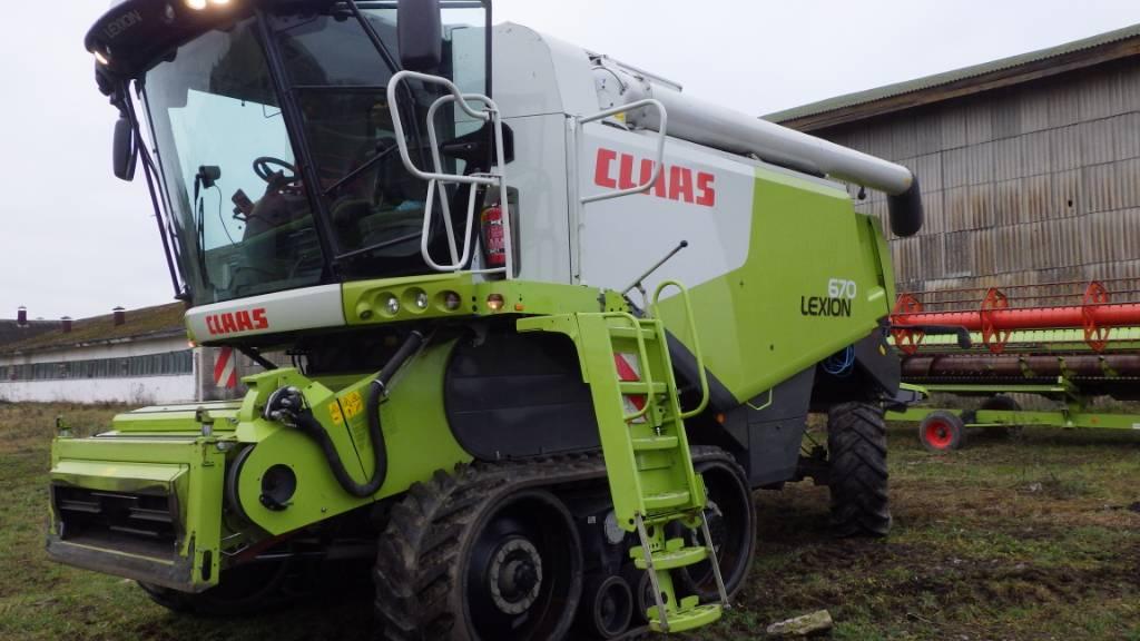 CLAAS Lexion 670 TT, Kombainid, Põllumajandus