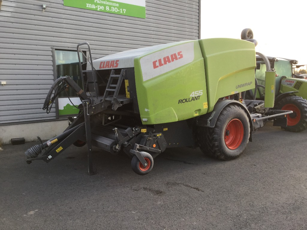CLAAS 455 UNIWRAP, Other agricultural machines, Agriculture
