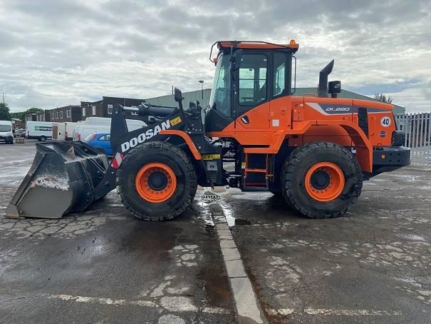 Doosan DL280-5, Wheel loaders, Construction