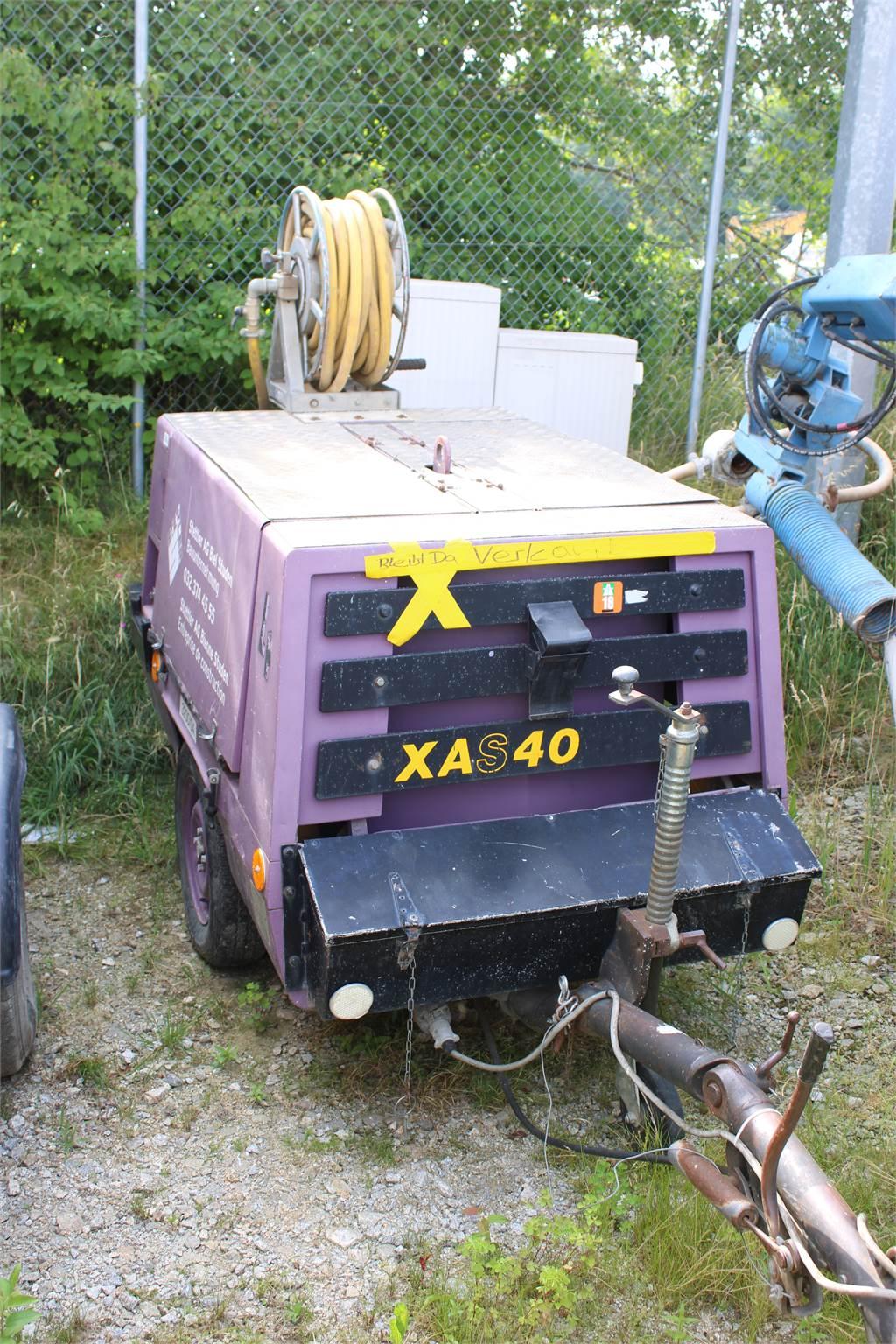 Atlas Copco XAS 40, Kompressoren, Baumaschinen