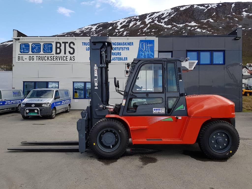 Heli CPCD100-P3G - 10 t diesel - 3,75 m LH, Diesel Trucker, Truck