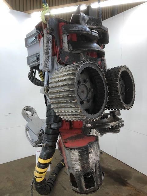 Log Max 6000B, Skördaraggregat, Skogsmaskiner